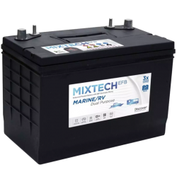 Discover M27 EFB 90Ah deep cycle battery