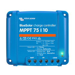 BlueSolar charge controller MPPT 75/10