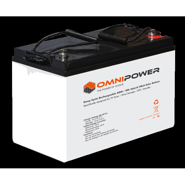 Omnipower 240ah 12v Sealed Battery
